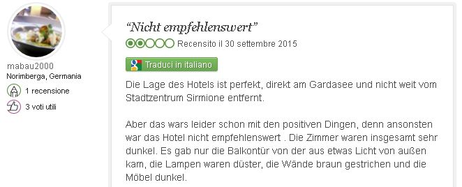 Hotel Smeraldo Sirmione Recensioni