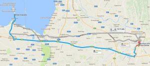 Hotel Fiera Verona mappa